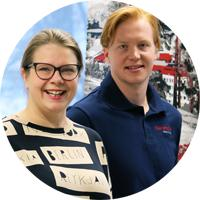 Muurametalot Oy - Teresa Sjönberg ja Aleksi Rämö - Adminet-kokemuksia talotehdas