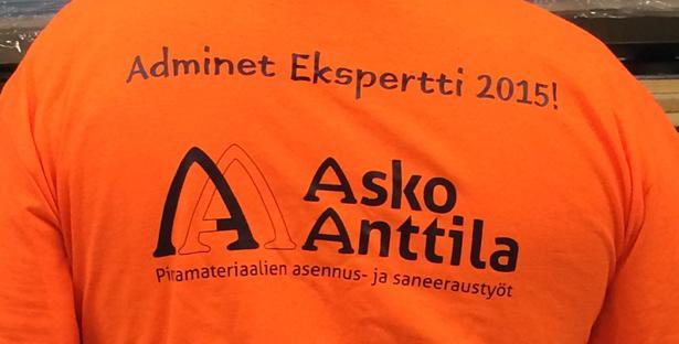 Asko Anttila Oy - Seppo Ranta - Adminet Ekspertti - Admicom