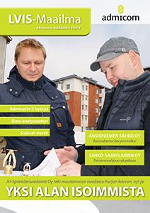 LVIS-Maailma 3/2015 - kansi