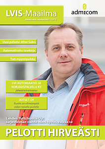 LVIS-Maailma 1/2015 - kansi