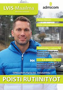 LVIS-Maailma 4/2014 - kansi