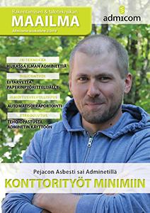 Rakentamisen & talotekniikan Maailma 2/2014 - kansi