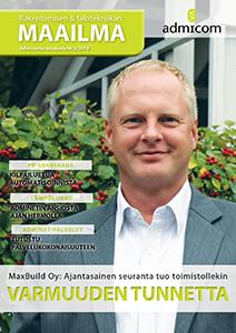 Rakentamisen & talotekniikan Maailma 3/2014 - kansi
