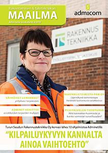 Rakentamisen & talotekniikan Maailma 4/2016 - kansi