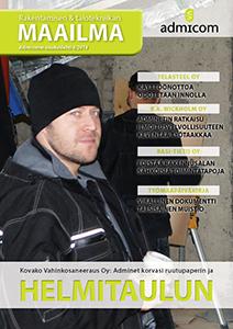 Rakentamisen & talotekniikan Maailma 4/2014 - kansi