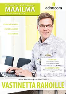 Rakentamisen & talotekniikan Maailma 3/2015 - kansi