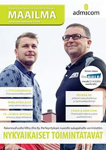 Rakentamisen ja Talotekniikan Maailma 3/2016 - kansi