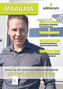 Rakentamisen & talotekniikan Maailma 1/2013 - kansi