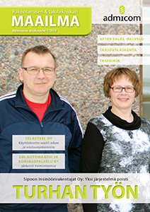 Rakentamisen & talotekniikan Maailma 2/2015 - kansi