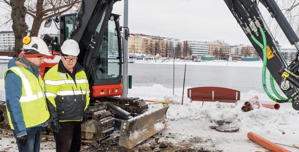 Vesihuoltotekniikka Kotilainen Oy - Työmaa - LVIS-Maailma 1/2016 Artikkeli - Admicom