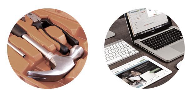 Käyttöomaisuuden hallinta - Työkalut ja toimiston laitteet - Admicom