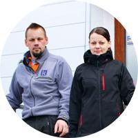 Vantaan Peltisepät Oy ja Koskisen Peltikate Oy - Esa ja Hely Koskinen | Adminet kokemuksia - Admicom