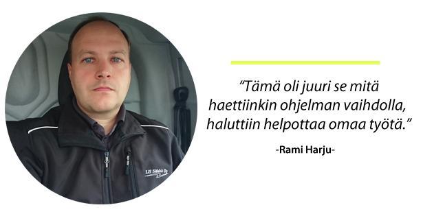 LH Sähkö - Rami Harju - LVIS-Maailma - Admicom