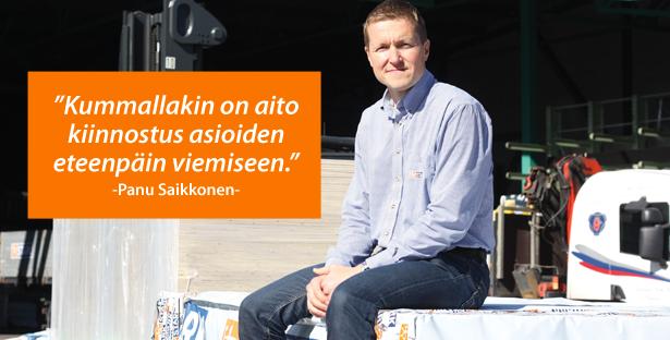 Panu Saikkonen STARK - Admicom asiakaslehti