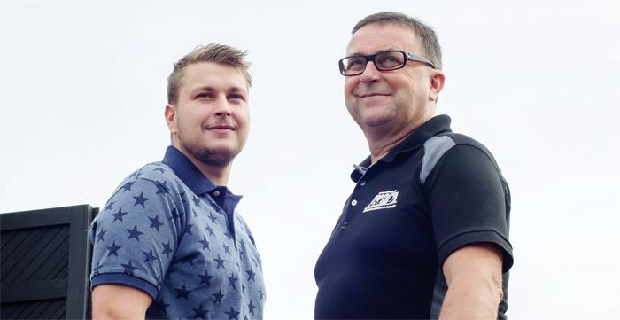Rakennushuolto Vilho Aho Ky - Aleksi ja Pekka - Admicom asiakaslehti