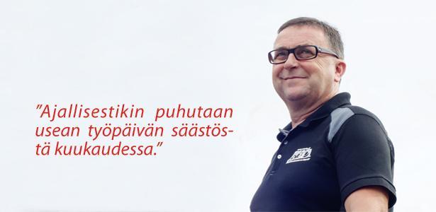 Rakennushuolto Vilho Aho - Pekka Aho - Admicom asiakaslehti