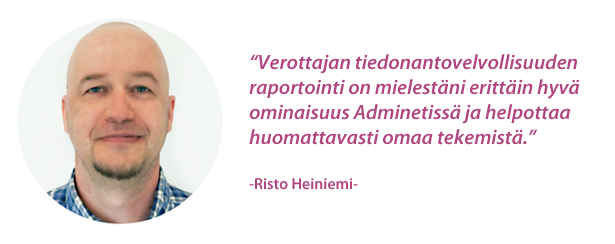 Proline Suomi - Risto Heiniemi - Admicom asiakaslehti
