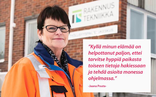 Turun Seudun Rakennustekniikka Oy - Jaana Pouta - Admicom asiakaslehti