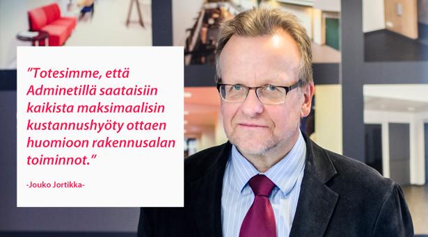 Turun Seudun Rakennustekniikka Oy - Jouko Jortikka - Admicom asiakaslehti