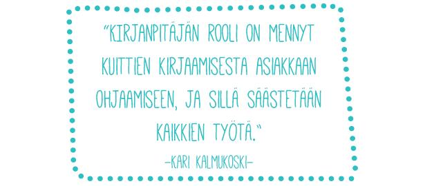 Admicomin tilitoimisto - Kirjanpitäjän rooli - Kari Kalmukoski