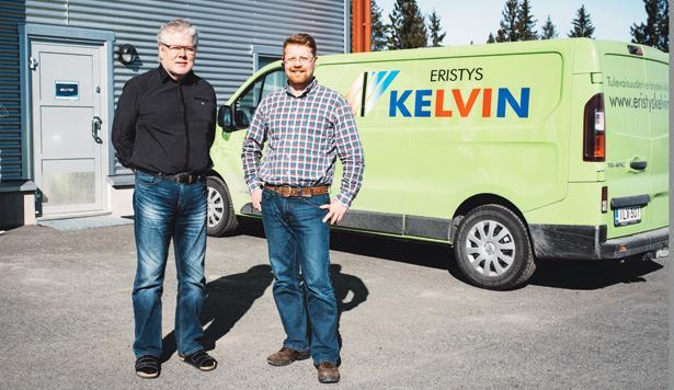 Kelvitec Oy - Mikko Rissanen - Eristys-Kelvin Oy - Jarmo Miettinen - LVIS-Maailma 2/2017