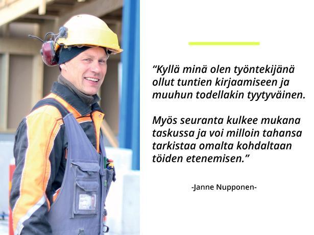 Kymen Osarak Oy - Janne Nupponen - Rakennusala mobiili - Admicom asiakaslehti