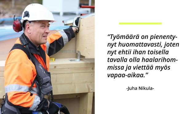 Kymen Osarak Oy - Juha Nikula - Admicom asiakaslehti