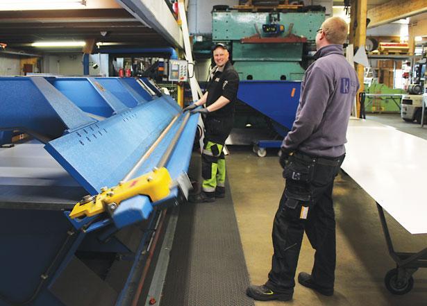 Koskisen Peltikate Oy - Tuotanto - Teollisuuden Maailma 1/2017 - Admicom