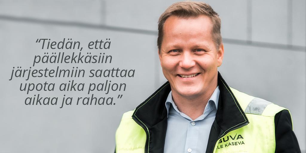 Asuva Oy - Ville Kaseva - Admicom rakentamisen asiakaslehti