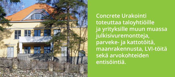 Concrete Urakointi Oy - Lars Sonckin Tie 3 - Admicom asiakaslehti