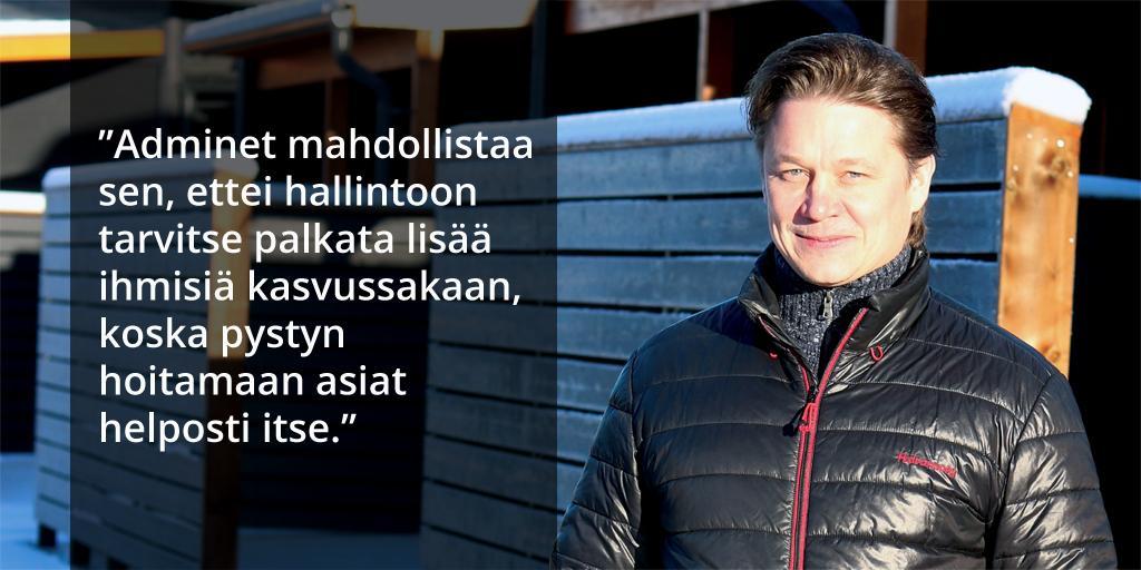 Rakennusliike A Vänttilä Oy - Antti Vänttilä - Admicom asiakaslehti