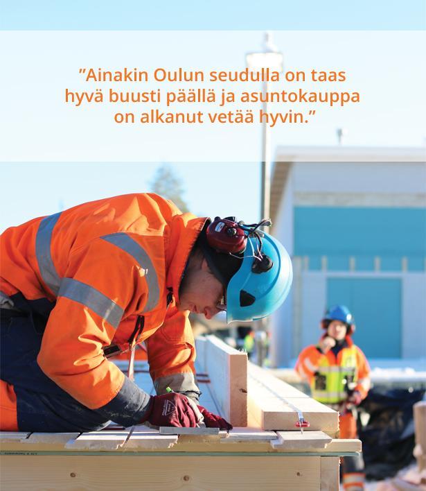Rakennusliike A Vänttilä Oy - Työmaa - Admicom asiakaslehti