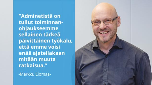 Suomen Jääkylmä Oy - Markku Elomaa - Admicom asiakaslehti