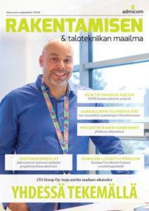 Admicom Rakentamisen & Talotekniikan Maailma - 1/2018