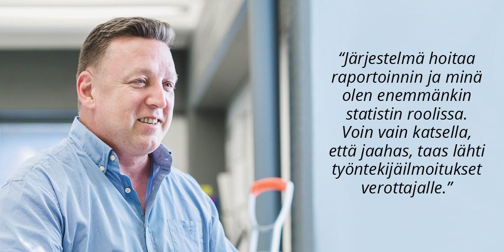 Johtorakennus Oy - Jarkko Juvonen - Admicom rakentamisen asiakaslehti