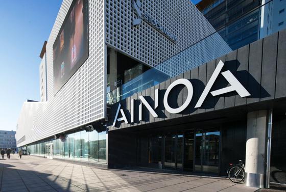 Kauppakeskus AINOA - Espoo - LTU Group Oy - Admicom rakentamisen asiakaslehti