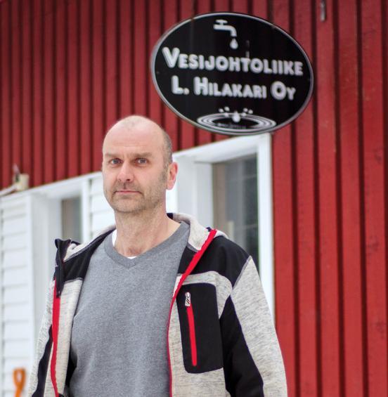 Vesijohtoliike Hilakari ja Kumppani Oy - Harri Kupiainen