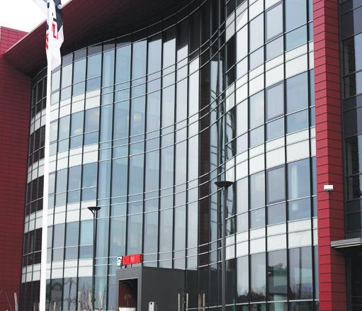 Avekmet Oy | Cargotec Oy pääkonttori - Teollisuuden Maailma 1/2018 - Admicom asiakaslehti