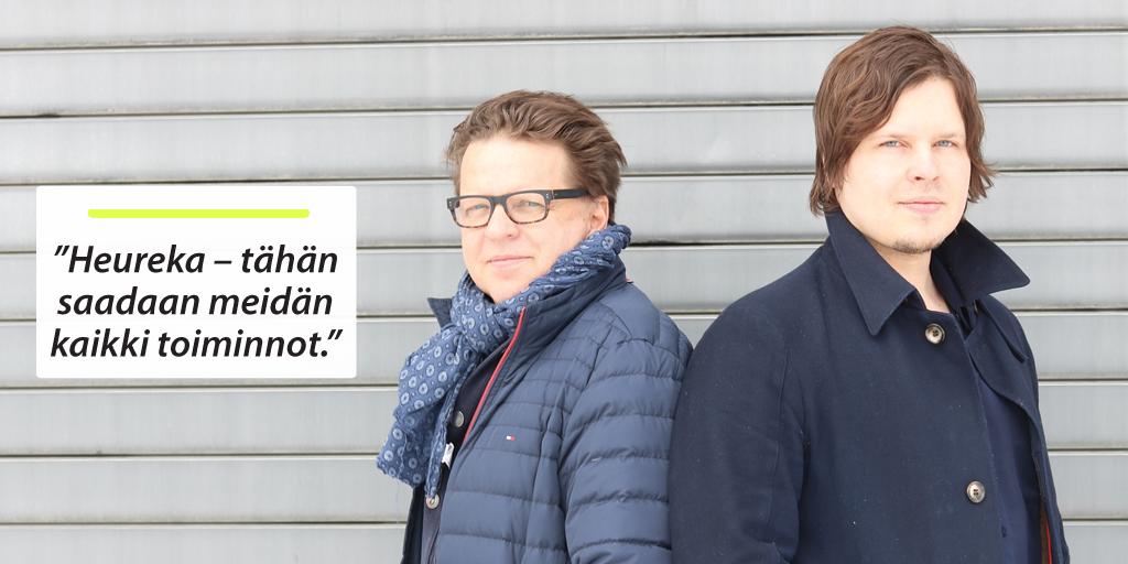 Avekmet Oy - Kari ja Ville Nousiainen | Teollisuuden Maailma 1/2018 - Admicom asiakaslehti
