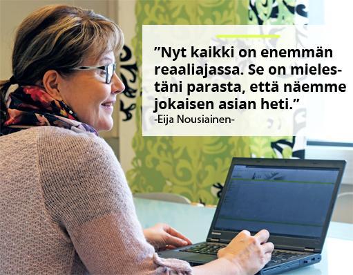 Avekmet Oy - Eija Nousiainen | Teollisuuden Maailma 1/2018 - Admicom asiakaslehti