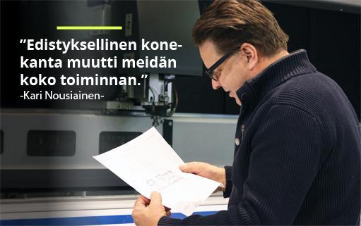 Avekmet Oy - Kari Nousiainen | Teollisuuden Maailma 1/2018 - Admicom asiakaslehti