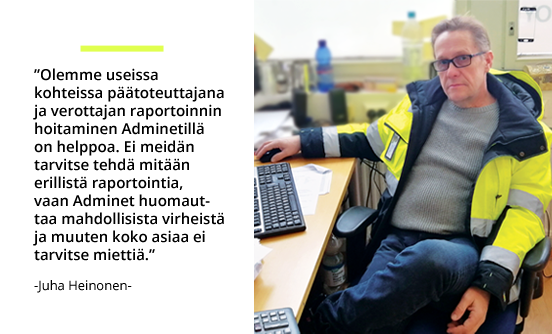 Rakennustoimisto Taitoneliö Oy - Juha Heinonen | Rakentamisen & talotekniikan Maailma 2/2018 - Admicom asiakaslehti