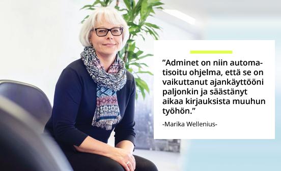 Rakennustoimisto Taitoneliö Oy - Marika Wellenius | Rakentamisen & talotekniikan Maailma 2/2018 - Admicom asiakaslehti