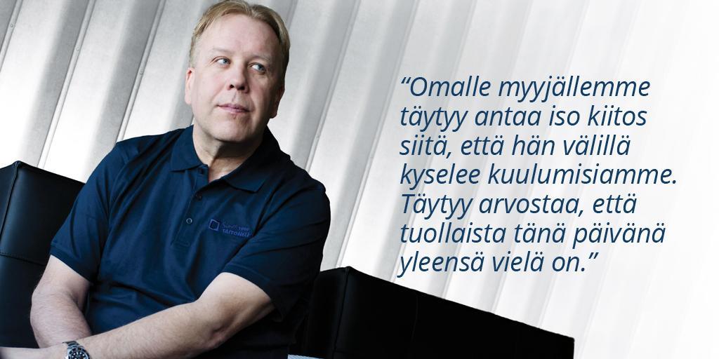 Rakennustoimisto Taitoneliö Oy - Pekka Tukiainen | Rakentamisen & talotekniikan Maailma 2/2018 - Admicom asiakaslehti