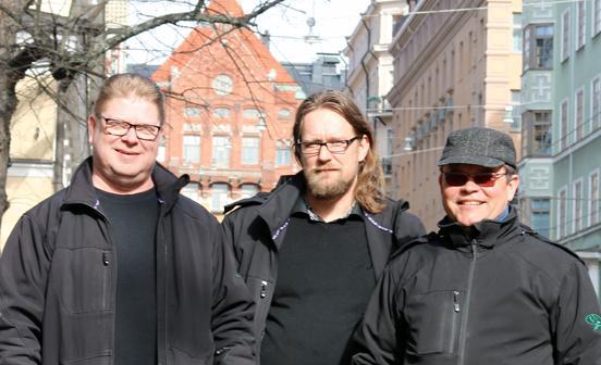 Veljekset Lehtinen Maalausliike Oy -Kari Väisänen ja työnjohtajat | Rakentamisen & talotekniikan Maailma 2/2018 - Admicom asiakaslehti