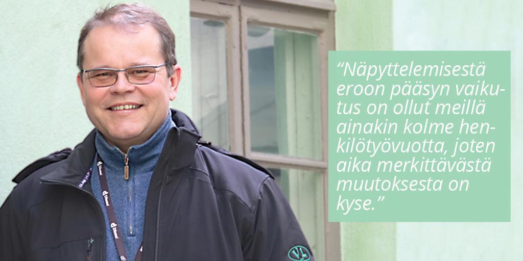 Veljekset Lehtinen Maalausliike Oy - Kari Väisänen | Rakentamisen & talotekniikan Maailma 2/2018 - Admicom asiakaslehti