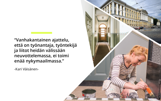 Veljekset Lehtinen Maalausliike Oy - Kohdekuvia | Rakentamisen & talotekniikan Maailma 2/2018 - Admicom asiakaslehti