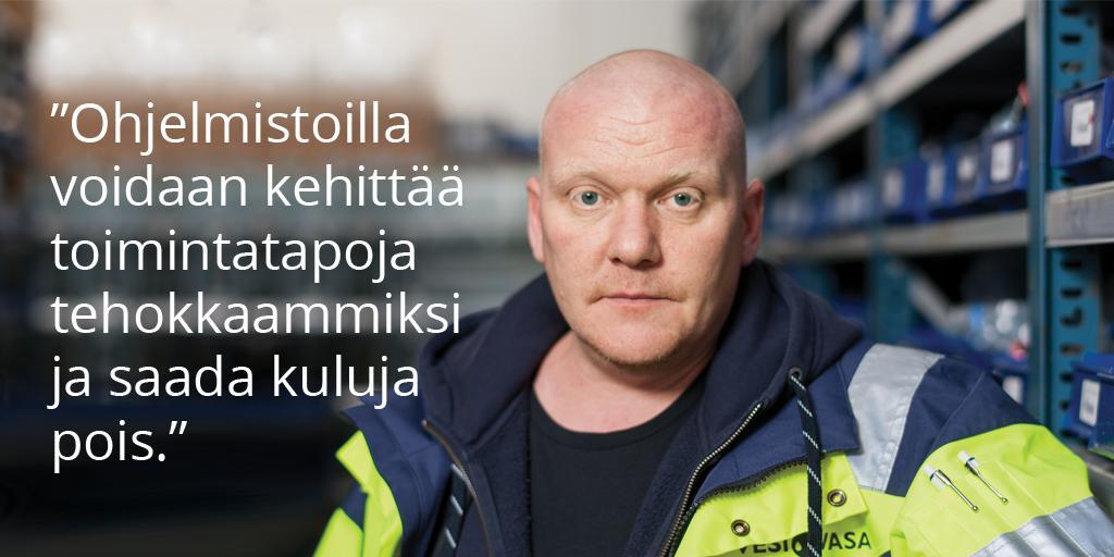 Vesi-Vasa Oy - Jani Vainio | LVIS-Maailma 2/2018 - Admicom asiakaslehti