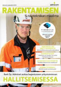 Rakentamisen & Talotekniikan Maailma 3/2018 - kansi