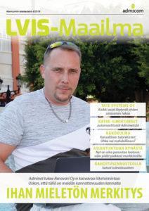 LVIS-Maailma 4/2018 - kansi | Admicom